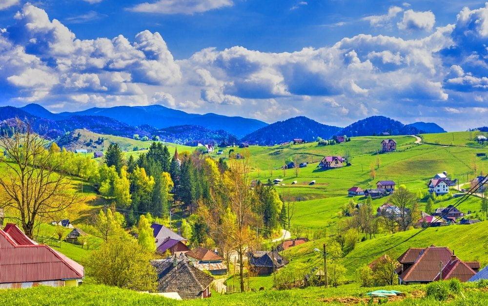 Șirnea Brașov, unul dintre cele mai frumoase sate din România