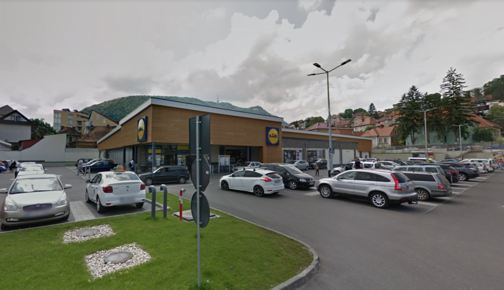Magazin Lidl Brașov, strada A.I. Cuza
