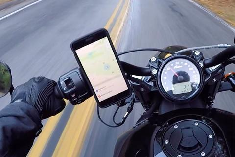 apple iphone vibratii motor motociclete