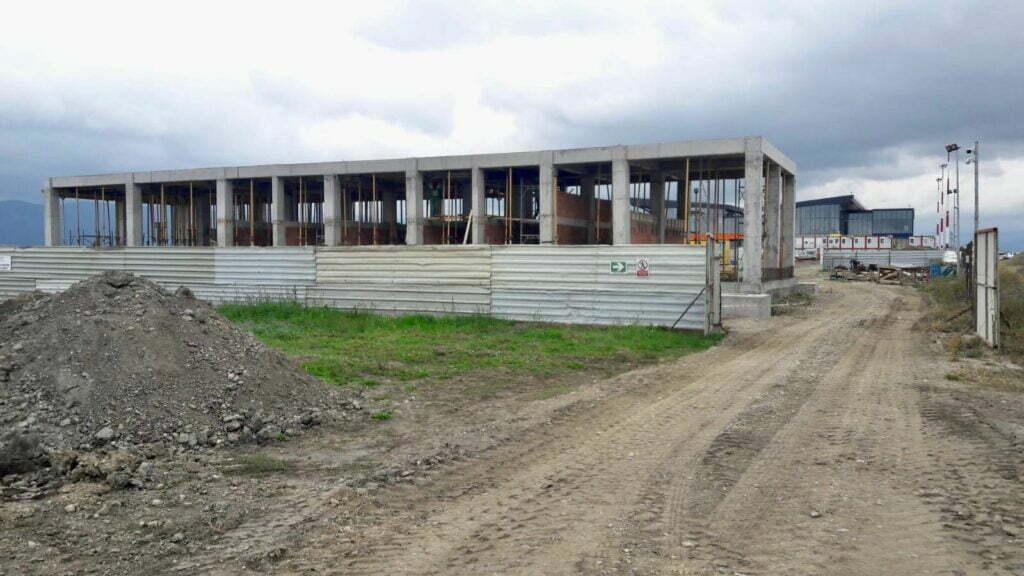 Evoluție lucrări Aeroport Brașov Ghimbav, 11 componenet infrastructură, septembrie 2021
